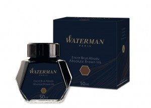 Atrament Waterman Brązowy 50ml