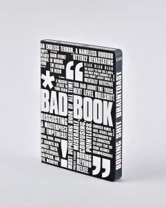 Notatnik Nuuna Graphic L Bad Book