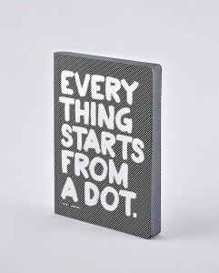 Notatnik Nuuna Graphic L Everything Starts From A Dot