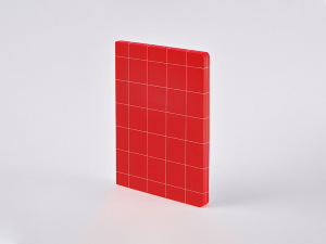 Notatnik Nuuna Graphic L Break The Grid Red