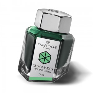 Atrament Caran d'Ache Vibrant Green 50ml