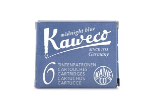 Naboje Kaweco Midnight Blue 6szt.