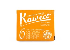 Naboje Kaweco Sunrise Orange 6szt.