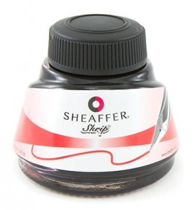 Atrament Sheaffer Skrip Czerwony (50ml)