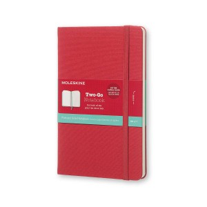 Notatnik Moleskine Two-Go M Raspberry Red