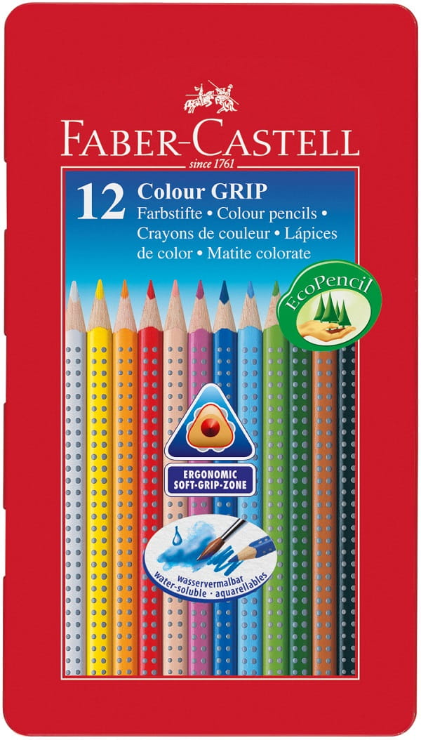 112413_Coloured pencil Colour GRIP tin of 12_Office_15279